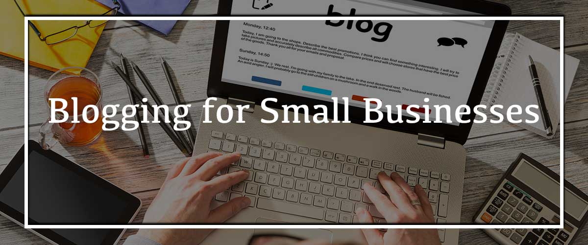 blogging for small businesses photo
